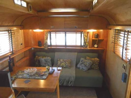 Vintage Trailer Interiors From Glamping Pinterest