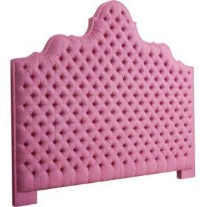 ultra girly pink headboard