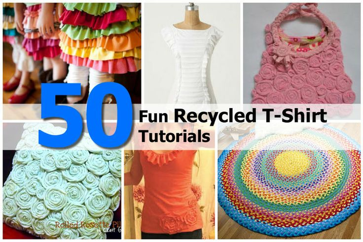Recycled T Shirt Crafts Pinterest