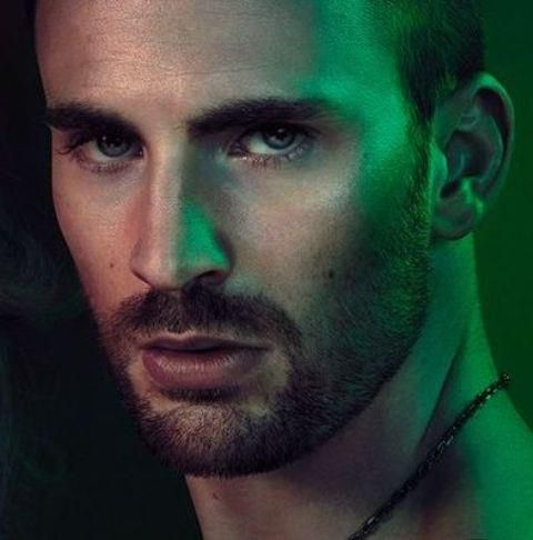 Chris Evans for Gucci ...