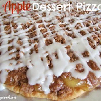 Apple Pie Pizza   Recipes   Pinterest