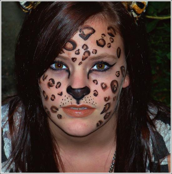 Halloween Makeup Tutorial Leopard