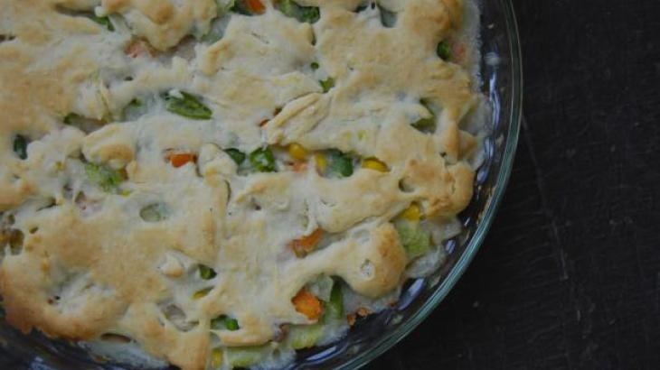 Easy Bisquick Chicken Pot Pie | Pastries, Meat, Pot Pies | Pinterest