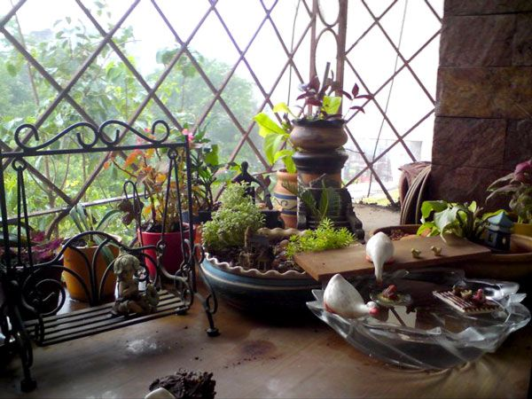 Fairy and small window garden ideas decor pinterest for Balcony decoration ideas india