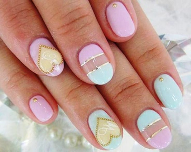 Pastel Nail Designs Ideas | Nail Art | Pinterest