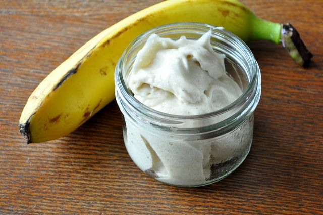 "Raw Banana ""Ice Cream"" - just blend/food process/juice a frozen ban..."
