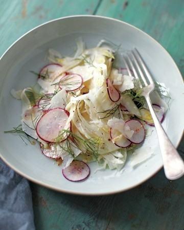 Watermelon Radish And Fennel Salad With Meyer Lemon Vinaigrette ...