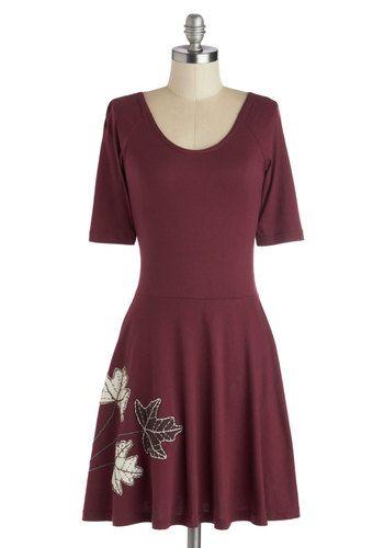 Fond of Foliage Dress