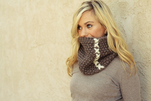 The Cobblestone Cowl from Topher & Company