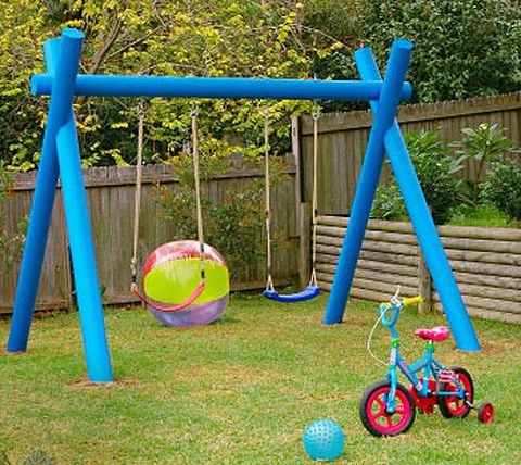 How to make a kids swing for Diy kids swing