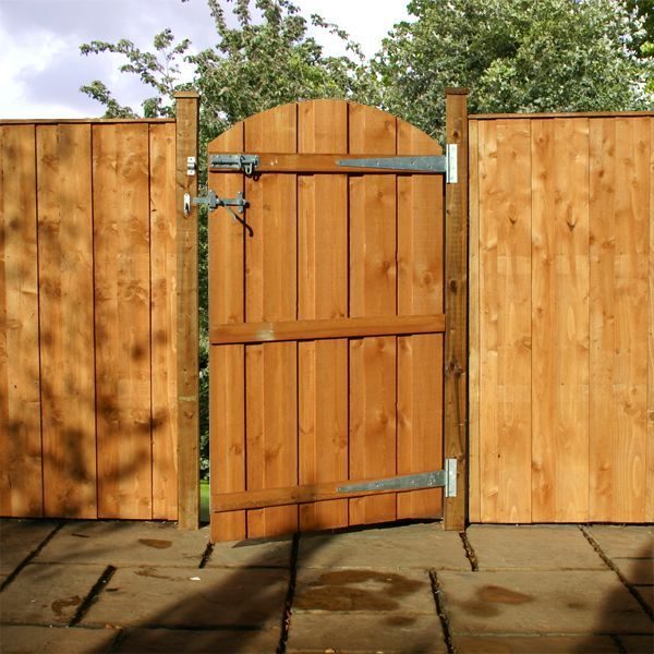 Fence gate fence backyard pinterest for Outdoor garden doors