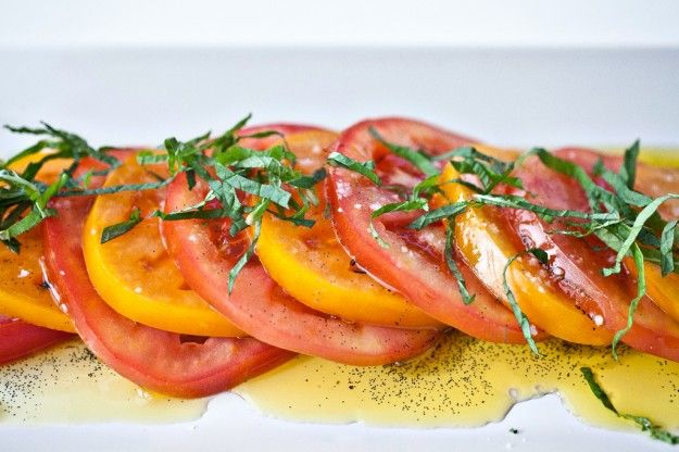 Tomatoes with Vanilla and Mint | Not Without Salt