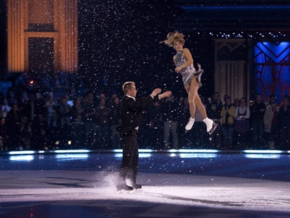 Valeri Bure and Ekaterina Gordeeva