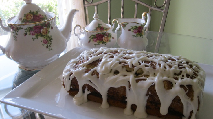 Buttermilk Cinnamon Coffee Cake | Breakfast | Pinterest