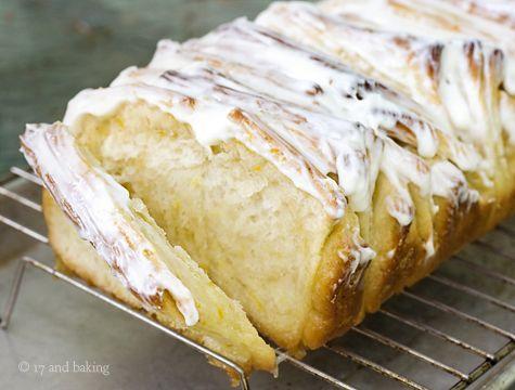 Lemon-Scented Pull-Apart Coffee Cake | Sugary Treats & Desserts | Pin ...