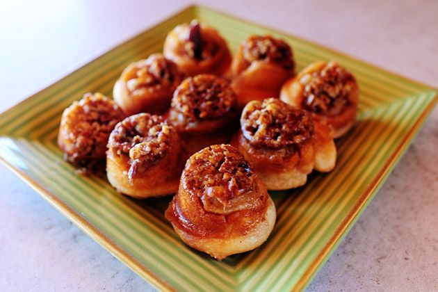 Sticky Pecan Mini-Buns | Recipe