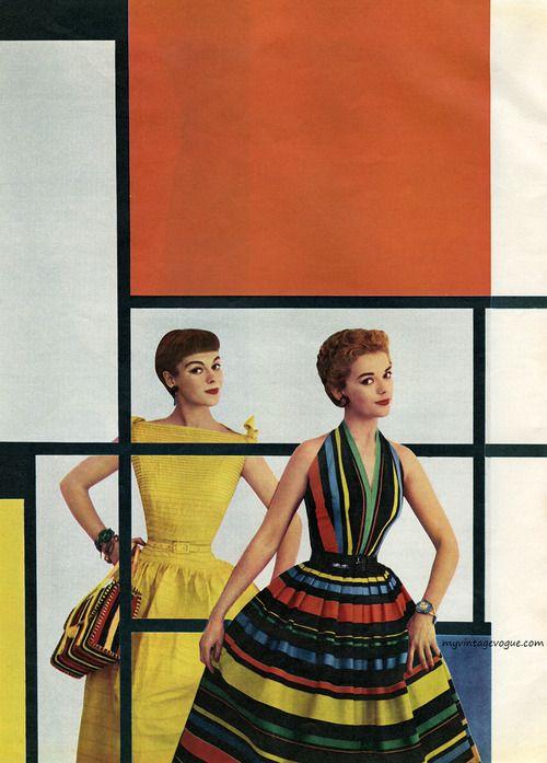 50年代は上品×可愛らしさ♡レトロワンピースでお嬢さんスタイルはいかが?