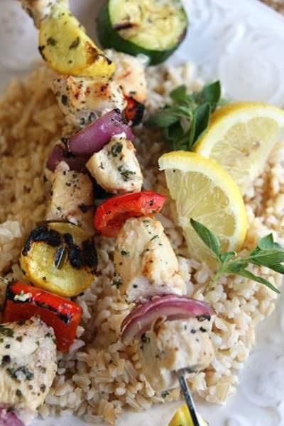 lemon-garlic herb rubbed chicken | foodie stuff | Pinterest