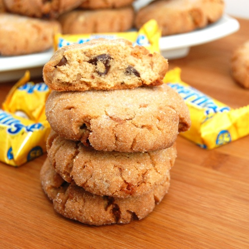 Butterfinger Peanut Butter Chocolate Chunk Cookies Recipe — Dishmaps