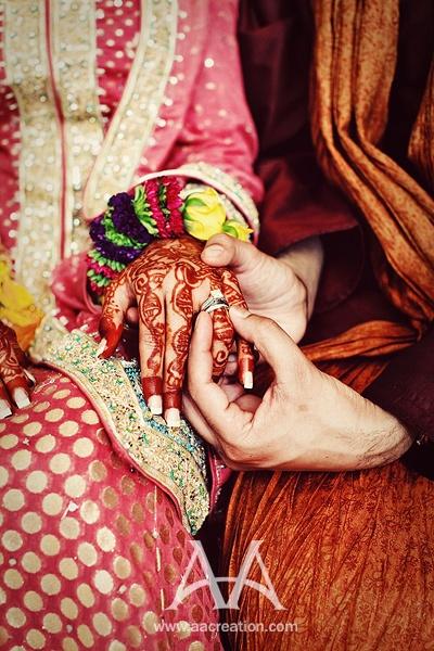The Ring Ceremony Desi Wedding Pinterest