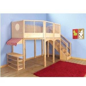 Super Cool Beds : Super cool loft bed for playroom  Kid's Room  Pinterest