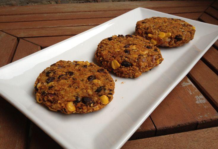 sweet potato & black bean burgers.   Vegetarian Recipes   Pinterest