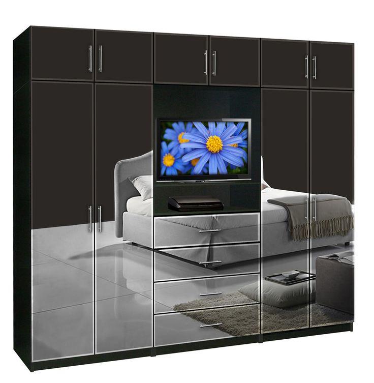 Aventa Wardrobe TV Cabinet X Tall Extra Wardrobe Cabinet Storage