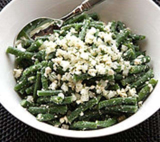 Green bean and feta salad | Feed me | Pinterest