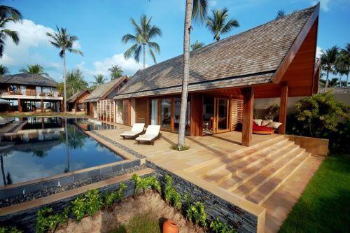 A tropical contemporary beach villa in koh tao, thailand