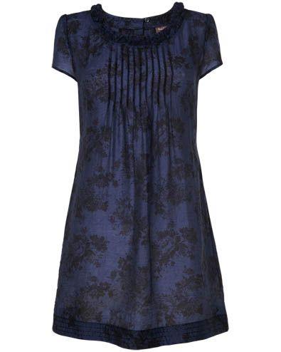 Women s Black/Navy Winona Floral Tunic
