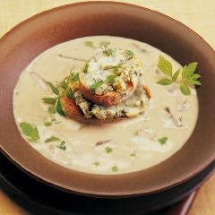... soup creamy mushroom soup wild mushroom soup with blue cheese toasts