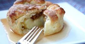 Baked Apple Dumplings with Cider Sauce | dessert | Pinterest