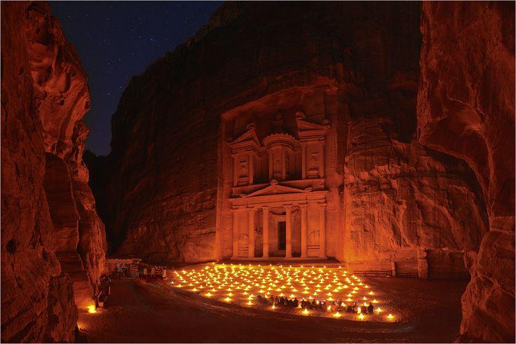 Petra, magic magic.