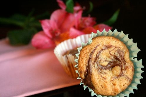 Nutella Swirl Blondies by philandclaire
