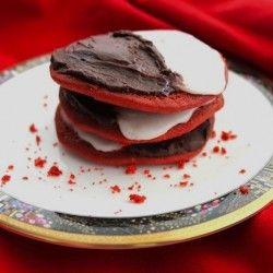 Black and White Red Velvet Cookies | Sweets | Pinterest