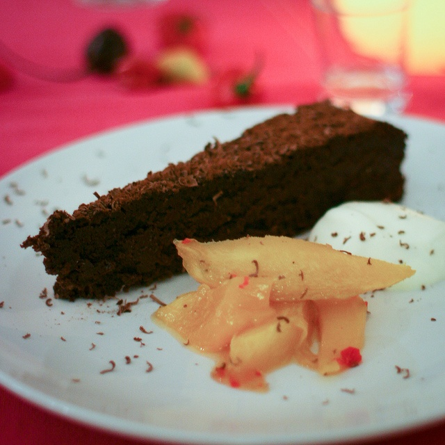 Mexican Dark Chocolate Torte by Vegetarian Cookery School, via Flickr