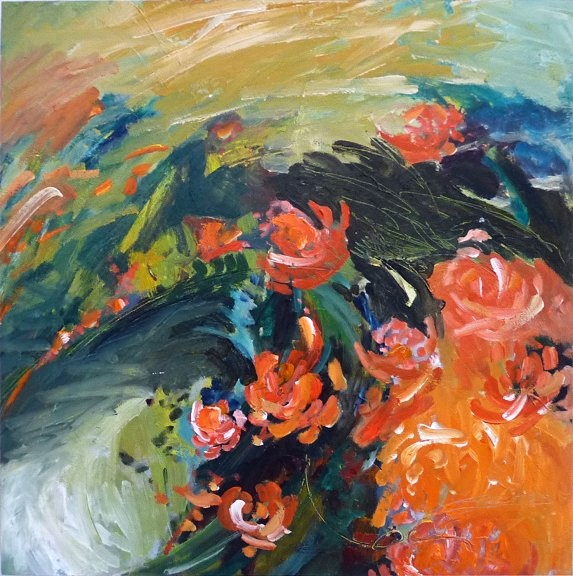 recent work - KAREN JACOBS contemporary and abstract paintings