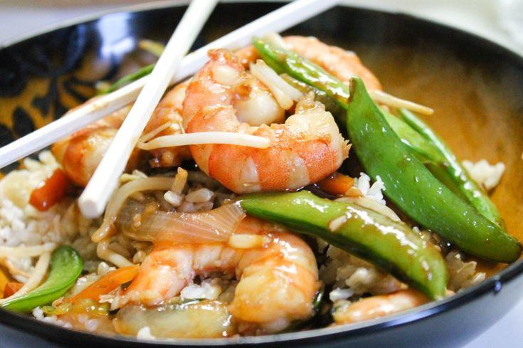 Happy Shrimp Stir Fry | Dinner Ideas | Pinterest