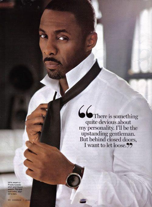 Oh, Idris.