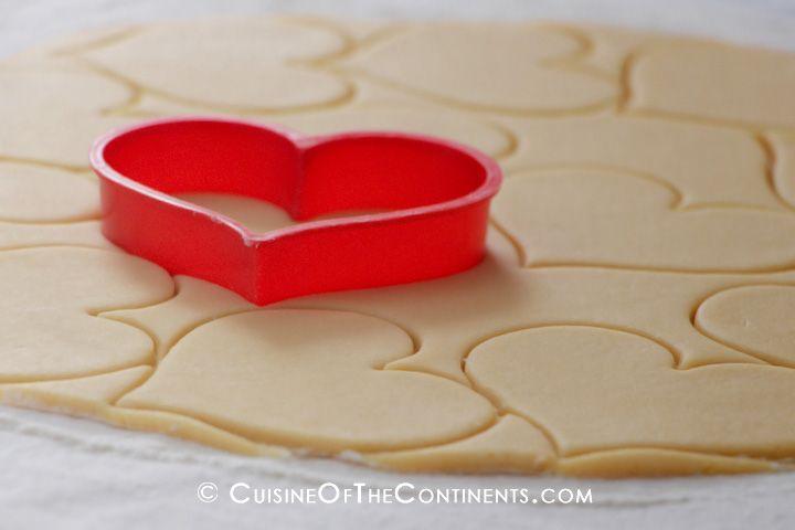 Valentine Sugar Cookies | Yum | Pinterest
