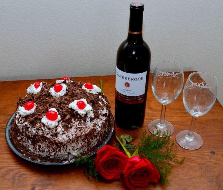 Easy Black Forest Cake | Cakes | Pinterest