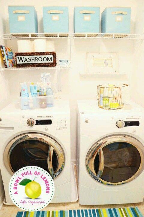 Super Organized Laundry Room Organizing Ideas Pinterest
