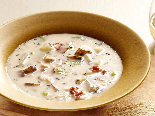 all-star, easy-to-follow Food Network New! New England Clam Chowder ...
