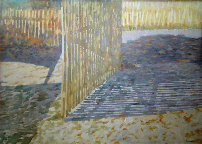 Ałaszewski Marek Płoty , olej na płótnie ,110 x 150 cm.