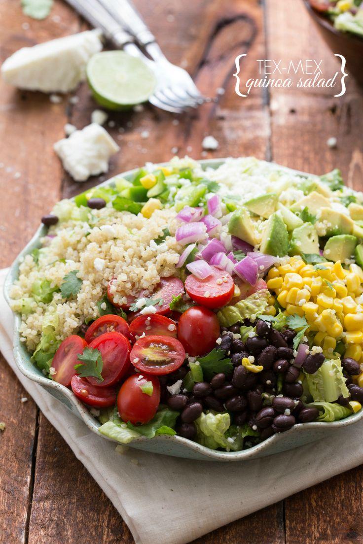 Zucchini And Corn Taco Seasoned Quinoa Salad Recipes — Dishmaps