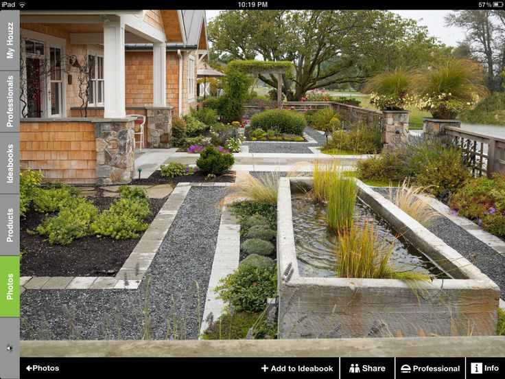 Easy maintenance modern landscaping