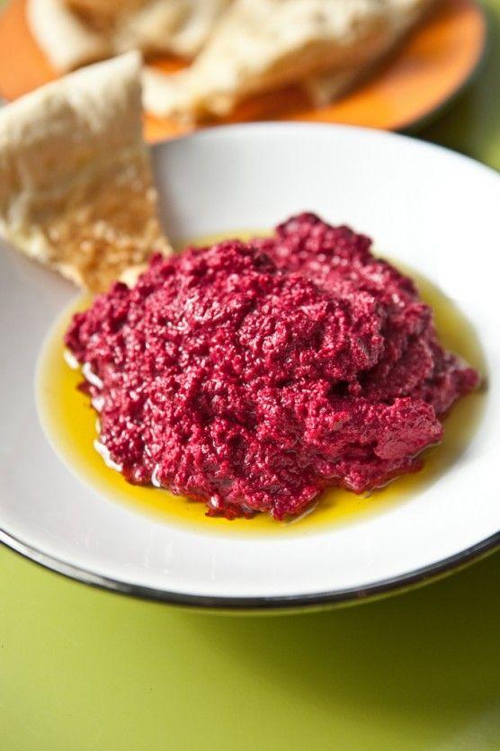 Beet Hummus | Yummies | Pinterest