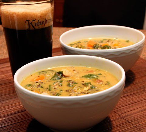 turkey-coconut-curry-soup | Soups, Stews, and Chilis | Pinterest