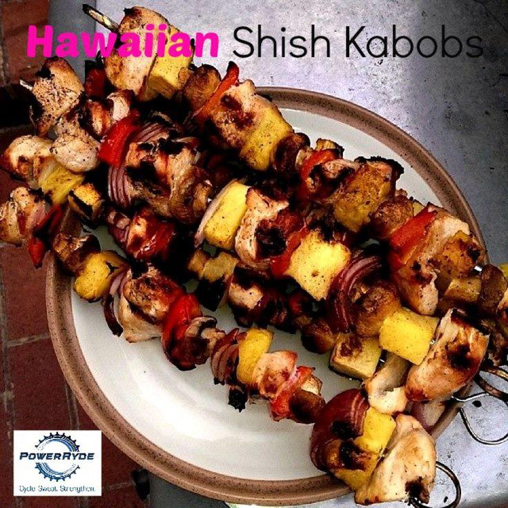 Hawaiian Shish Kabobs   Food   Pinterest