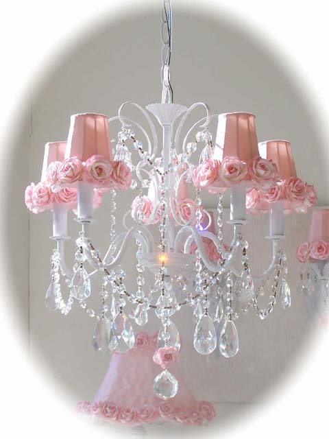 I love the pink and white.  Soft and classy.  Found at BellaCottage.com